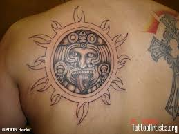 20 best aztec sun tattoos images on pinterest aztec tattoo