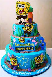 spongebob cake ideas spongebob birthday cake ideas wow pictures spongebob birthday