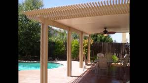 Building Patios by Diy Patio Covers Youtube
