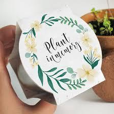 memorial service favors wildflower memorial planting kit plantable memorial favors