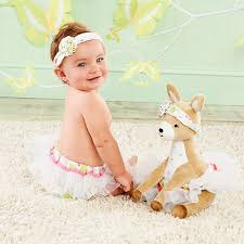 fawn headband flora the fawn plush plus deer with bloomers and headband baby