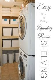 Diy Laundry Room Storage Ideas by 58 Best Laundry Room Tutorials Images On Pinterest Home Laundry