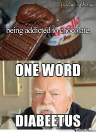 One Word Diabeetus Meme - diabeetus by timeywimeydalek meme center