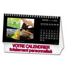 chevalet de bureau personnalisé accessoire de bureau publicitaire calendrier publicitaire calendrier