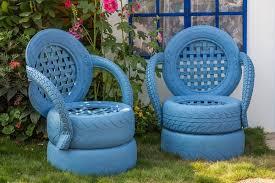 como hacer macetas con llantas recicladas paso a paso reciclado de neumáticos para sillas mesas y puffs