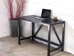 bureau industriel bois et metal bureau en metal bureau en home bureau bois metal ikea meetharry co