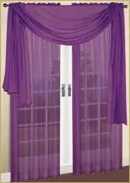 Curtains 60 X 90 Sheer Window Curtains Drape Panels Treatment Purple 60 W X 90