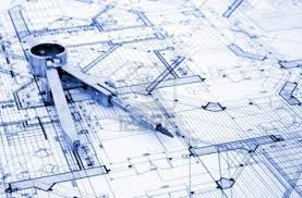 architect blueprints you want to build a house so you hire an