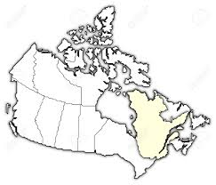 Map Of Quebec Political Map Of Canada With The Several Provinces Where Quebec
