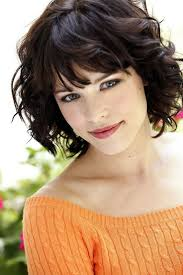 short hairstyles with bangs pictures long layered hairstyle with