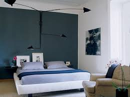 delectable dark bedroom accent wall color design by cool black