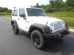 white jeep sahara jeep wrangler 4 door hardtop used crearprimero
