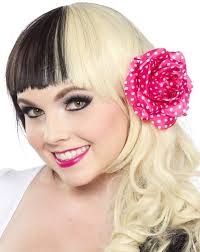 polka dot hair retro hair products vintage inspired hair bands accessories