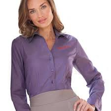 red house ladies french cuff non iron pinpoint oxford work gear