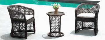 Wicker Style Outdoor Furniture by Outdoor Wicker Coffee Sets 2 Chairs U0026 1 Table Set Garden