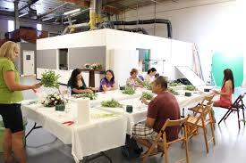los angeles floral design workshops flower duet floret cadet