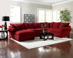 plush sectional sofas sectional sofa with chaise by klaussner wolf and gardiner wolf