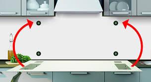 spritzschutz küche anleitung fachgerechte befestigung küchenrückwand frag mutti