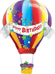 jumbo balloons happy birthday hot air balloon jumbo foil balloon