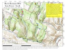 Green Ridge State Forest Camping Map by Burnt Rossman State Forest U2013 Andy Arthur Org