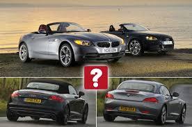 what car bmw z4 used audi tt vs bmw z4 what car