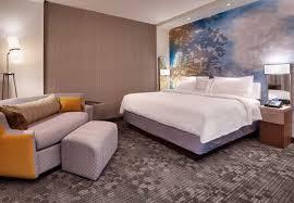 hotel in lehi utah with luxury bedding courtyard