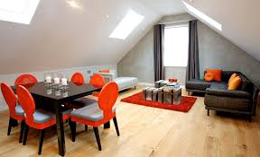 Orange And Black Rugs Black And Orange Theme Living Room Contemporary With Lacquered