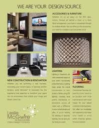 home design education interior design a4 brochure template psd templates arafen