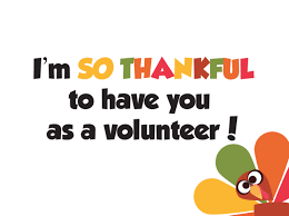 thanksgiving thank you notes for volunteers children s ministry