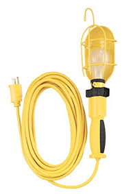 Trouble Light Coleman Cable 5857 16 3 Sjeow Trouble Light With Metal Guard And