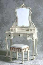 Vintage Style Vanity Table Vintage Dressing Table With Mirror And Stool Vinofestdc
