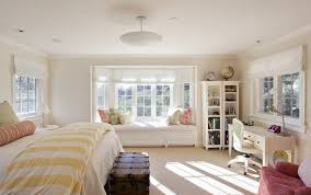 Desk Molding Bay Window Decorating Ideas Pictures Bedroom Traditional With