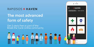 Family Safety Rapidsos Haven App Break The Cycle