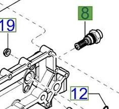 genuine kia sorento 2003 2007 2 5 td engine cooler bypass valve