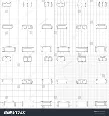 Floor Plan Flat by Set Simple 2d Flat Vector Icons Stock Vector 294499424 Shutterstock