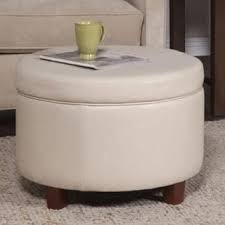 round ottomans u0026 storage ottomans for less overstock com