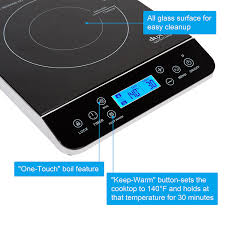 Induction Cooktop Amazon Amazon Com Duxtop Lcd 1800 Watt Portable Induction Cooktop