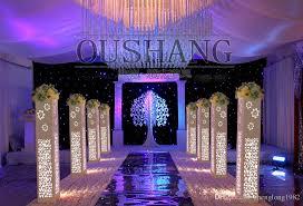 Cheap Gold Centerpieces by Wedding Centerpieces Mirror Carpet Aisle Runner Gold Silver Double