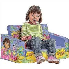 Winnie The Pooh Flip Out Sofa Dora The Explorer Flip Out Sofa A Bed U0026 Chair In One