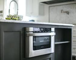 kitchen island with microwave drawer microwave in kitchen island t microwave drawer in kitchen island