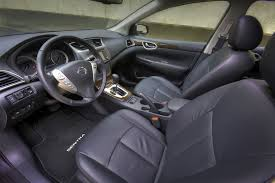 Nissan Sentra Interior All New 2013 Nissan Sentra Moves Up In Style Sophistication