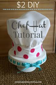 2 chef hat tutorial