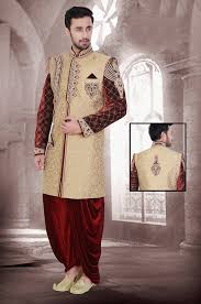 marriage dress groom attire for wedding online buy jacquard sherwani