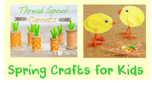 kids spring crafts and art projects cheer and cherry