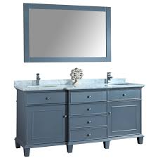 double sink vanity with makeup table hold white ceramic bathtub