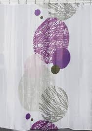 Pink And Gray Shower Curtain by Printed Shower Curtain Valentine Polyester Grey Pink 71 U0027 U0027w X 79 U0027 U0027l