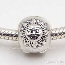 pandora necklace silver charm images 100 s925 sterling silver night day clip charm bead fits jpg