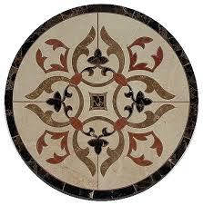 waterjet marble floor medallion marble floor tile inlay