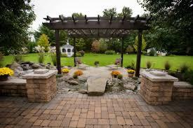 Backyard Pavers Cost by Stone Walls Landscaping Ideas Landscaping Pavers Ideas