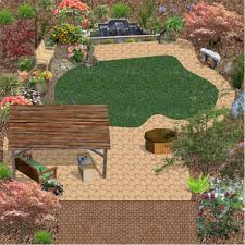 Backyard Design Ideas Backyard Design Ideas Without Grass Simple - Simple backyard design